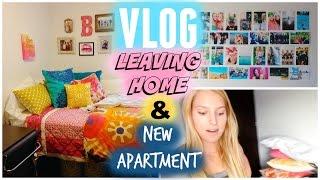VLOG: LEAVING HOME & NEW APARTMENT!? Thumbnail