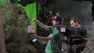 The Desolation of Smaug - Behind the Scenes B Roll # 1 (HD)