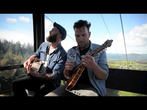 """mini rogue stage concert at skyline gondolas Rotorua """"Dave Kahn, Will Wood and TomCunliffe"""