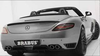 BRABUS  Mercedes SLS AMG Roadster 2012 Videos