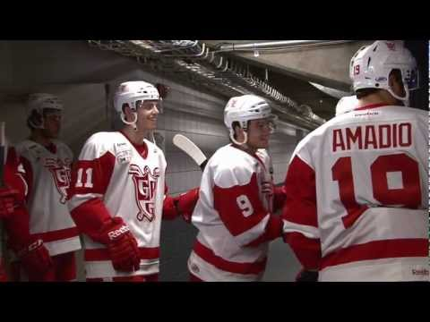 Grand Rapids Griffins behind the scenes at Van Andel