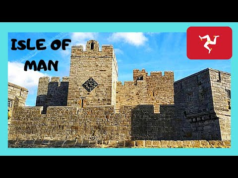 ISLE OF MAN: the historic CASTLE RUSHEN in Castletown