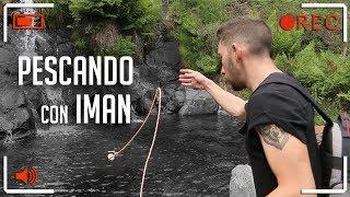ENCONTRAMOS un AMARRE pescando con un SUPER IMÁN!!!