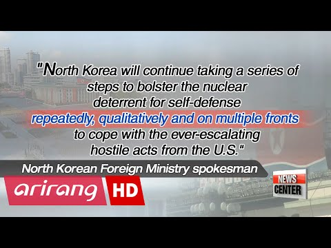 N. Korea vows to continue nuclear development to deter U.S.