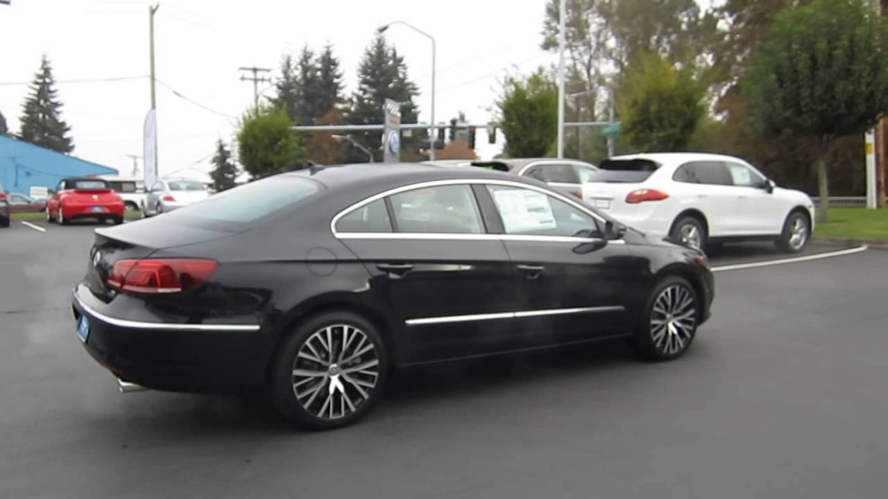 2014 Volkswagen CC, Deep Black - STOCK# 109505 - YouTube