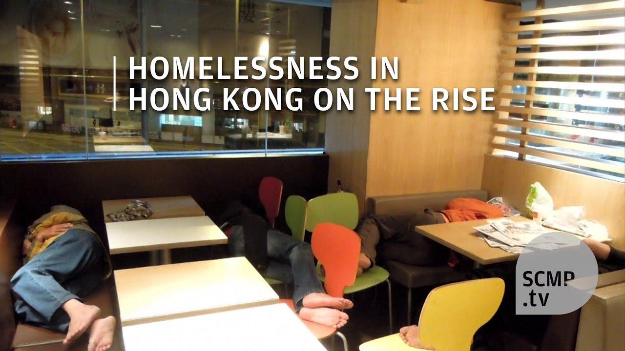 Mcrefugees Homeless People In Hong Kong Are Sleeping 24 Hour Mcdonald Restaurants