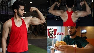 I deserve a Cheat Meal | Back and Biceps workout |