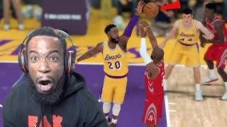Catching Mo Bamba with A Posterizer! Magic vs Lakers NBA