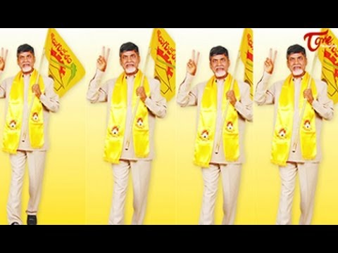 Telugu People with Telugu Desam Party Victory