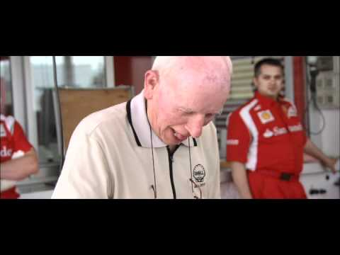 Spa treatment: John Surtees and Fernando Alonso compare notes