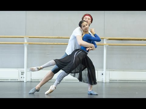 The Royal Ballet rehearse works by Frederick Ashton