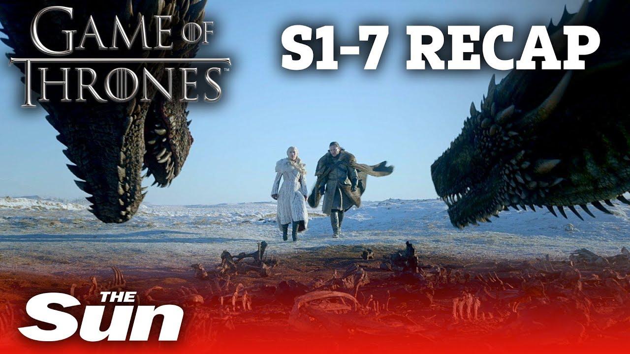 Game Of Thrones Season 1 7 Recap In 2 Minutes Youtube