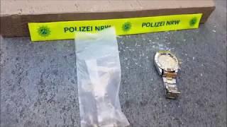 Polizei vernichtet gefälschte Rolex Uhr aus China