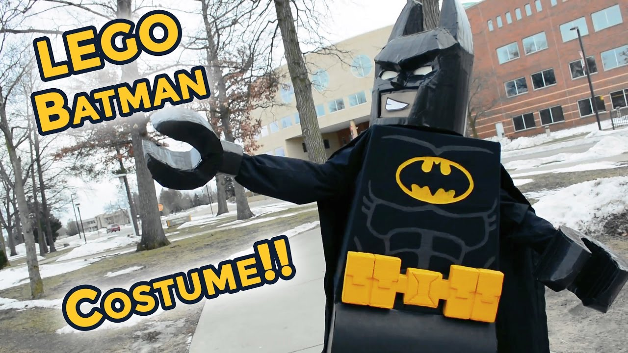 & Custom-made LEGO Batman Movie Costume - YouTube