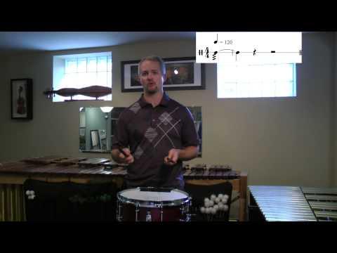 Will James: Unmetered Snare Drum Rolls