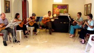 TARDE MUSICAL DICIEMBRE 10, 2011. Infinito, Grupo musical más piano. Reflejos . 4 de 5