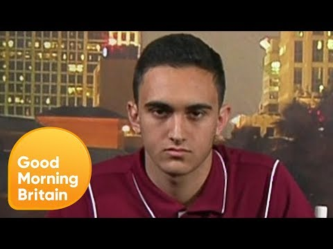Florida Shooting Survivors React to Donald Trump's Calls for More Guns | Good Morning Britain