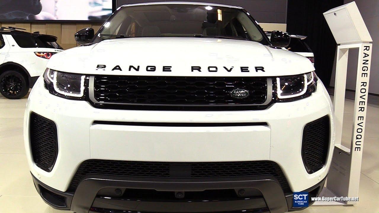 2018 Range Rover Evoque Autobiography Exterior Interior Walkaround