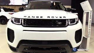 2018 Range Rover Evoque Autobiography - Exterior Interior Walkaround - 2018 Montreal Auto Show