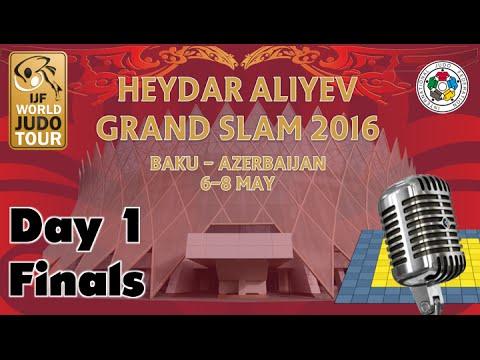 Judo Grand-Slam Baku 2016: Day 1 - Final Block