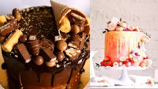 How To Make Chocolate Cake Decorating Videos - Cake Style 2018 - Amazing Heart Cupcake Cake Ideas
