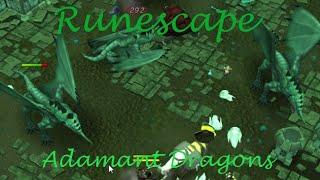 Runescape - Adamant dragons