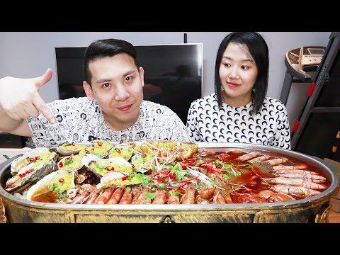 """268块钱买了一个""""海鲜大咖"""",这一盆够一家人吃,你们说值不值"""