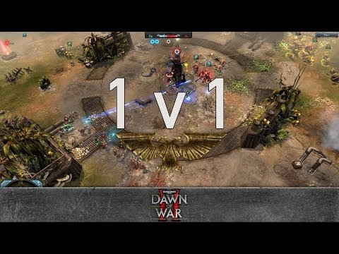 Dawn of War 2: Retribution - 1v1 | Fenix - Hive Tyrant [vs] ManOfFaith - Warp Spider Exarch