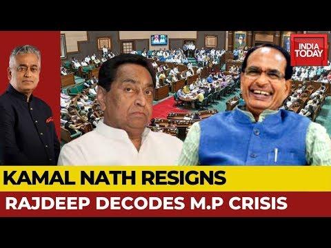 Kamal Nath Resigns, Congress Falls & BJP Rejoices; Drama Ends? | Rajdeep Decodes M.P Crisis