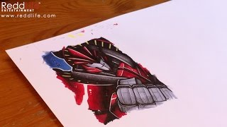 Drawing Knock Out from Transformers Prime by Jack Redd
