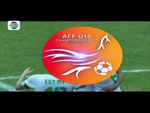 Cuplikan Gol-Gol Myanmar vs Indonesia - AFF Cup U-18 Championship 2017