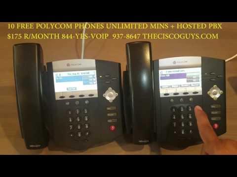 Polycom Training ip450 ip550 ip650 w/ Freepbx elastix trixbox pbx