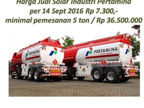 Jual Solar Industri Pertamina Resmi kontak 082143346988