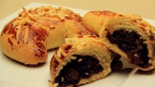 Ay Çöreği Tarifi - Cevizli Üzümlü Tatlı Ev Çörekleri