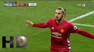 West Brom vs Manchester United 0 2 All Goals and Highlights Premier League 17 12 2016