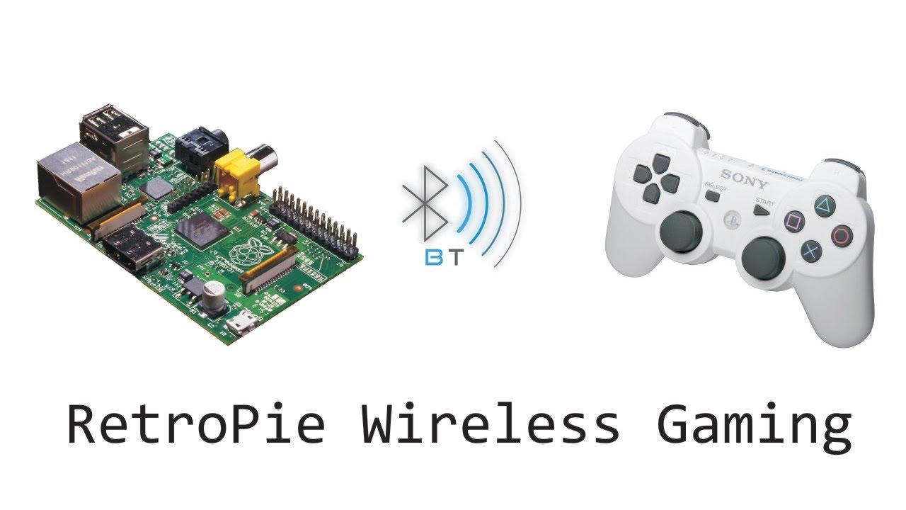 Raspberry Pi - RetroPie PS3 Controller BLUETOOTH - YouTube