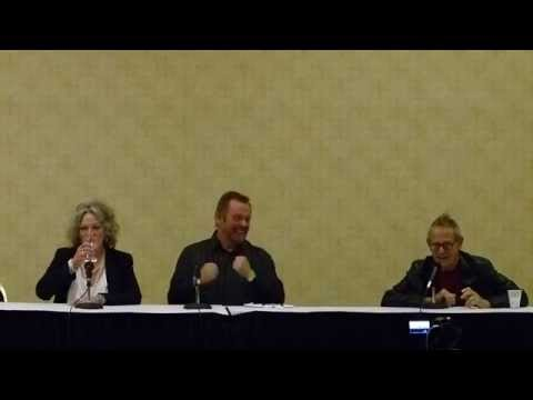 VERONICA CARTWRIGHT, PEGGY KING AND WILLIAM SANDERSON Interview MANC September 18th, 2014 Part One