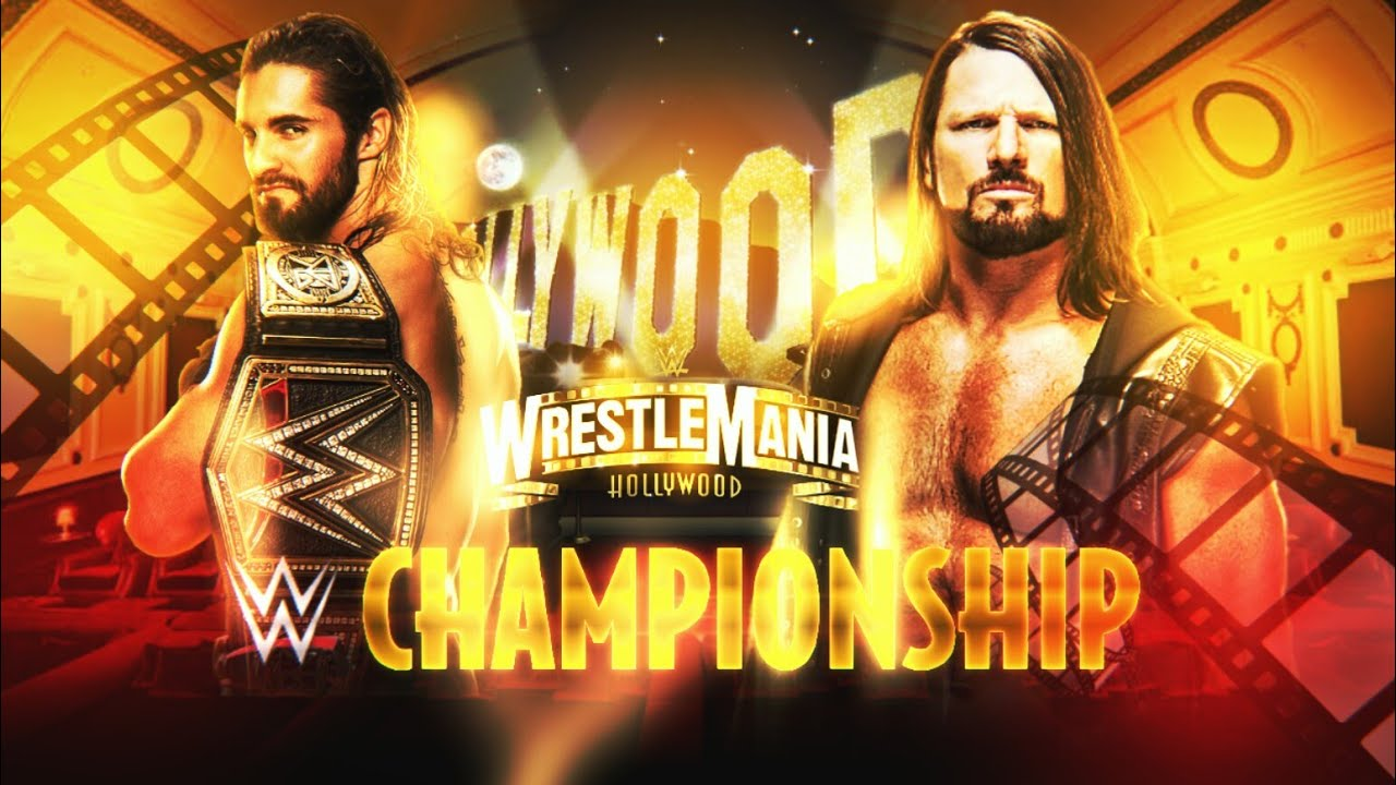 Download WWE WRESTLEMANIA 39 MATCH CARD PSD & PARTES    TUTORIAL