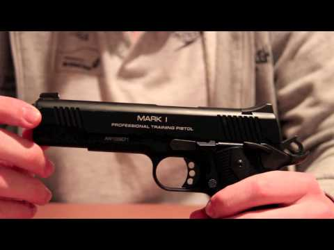 KWA Mark 1 PTP Airsoft Pistol Review