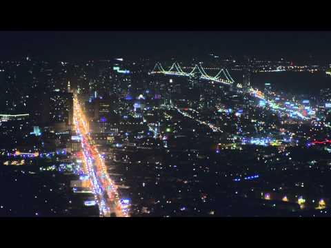 EMC NIGHT VIEW OF BANGALORE