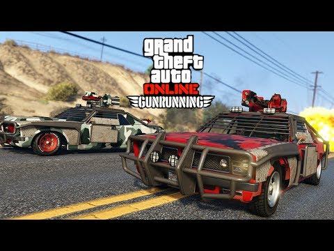GTA V Online : GunRunning | ASSALTO À MINA DO CARTEL DE ARMAS