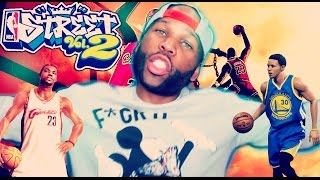 NBA Street 2 with 2016 Rosters!  NBA Street Vol 2 2016 Remix Gameplay - Warriors vs. Cavs (Mods)