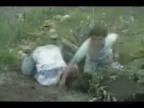 Funny Video - Head Dunked In Mud!