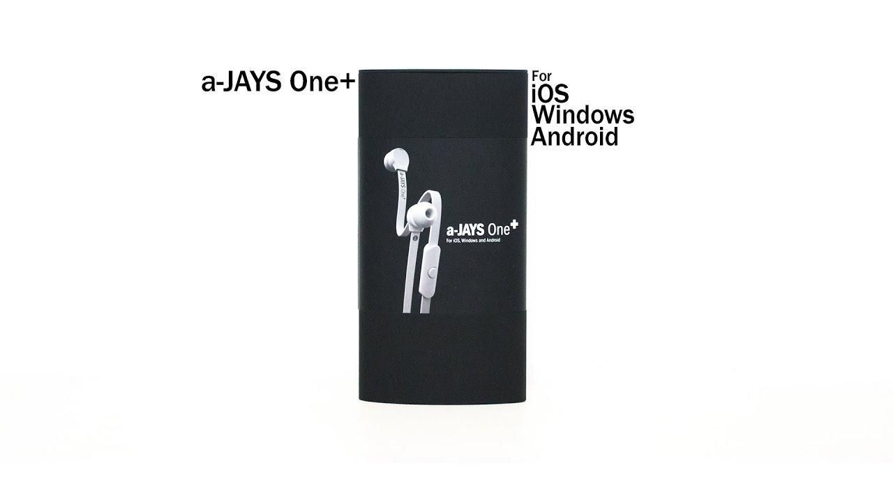 Unboxing A Jays One Earphones Youtube Black