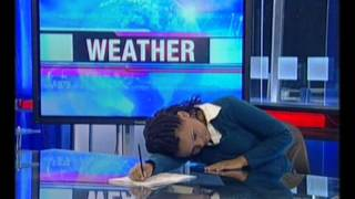 Caught napping! eNews anchor dozes off.wmv