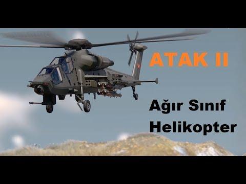 Ağır Sınıf Taarruz Helikopteri ATAK II Hakkında Tüm Detaylar