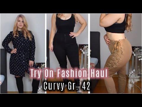 TRY ON FASHION HAUL | Curvy Größe 42 | NewChic & Bershka | Lilixy Mee