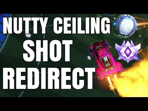 BEAUTIFUL CEILING SHOT REDIRECT INTO THE TOP CORNER | PRO 2V2 WITH GARRETTG
