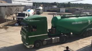 видео Доставка цемента