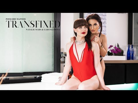 TRANSFIXED   Poolside Manner Trailer   Natalie Mars And Gabi Paltrova (Adult Time)